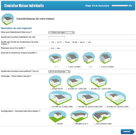 simulation DPE online