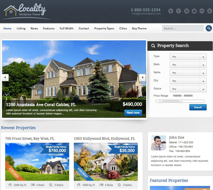 wordpress-immobilier-locality