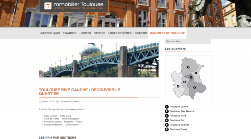 Immobilier Toulouse Blog