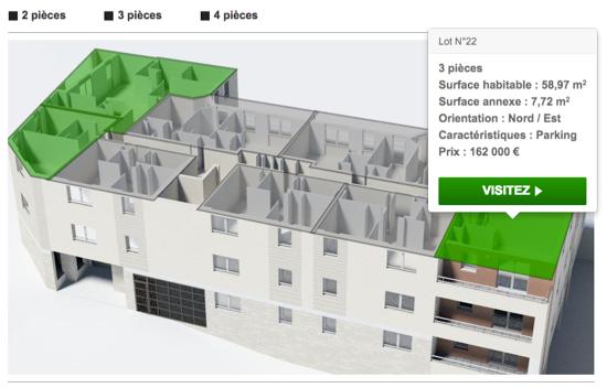 Acheter un appartement totalement sur internet c est maintenant possible - Acheter un appartement pour le mettre en location ...