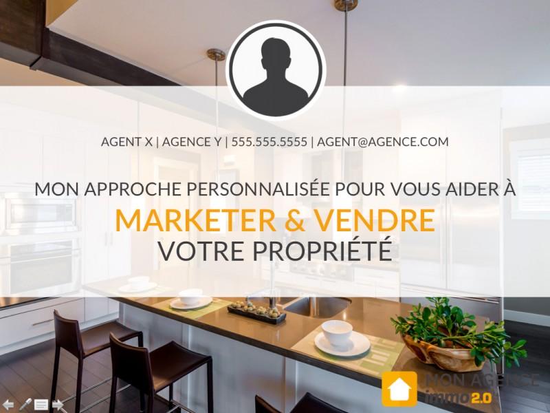 Design communication book de service vendeur immobilier 1