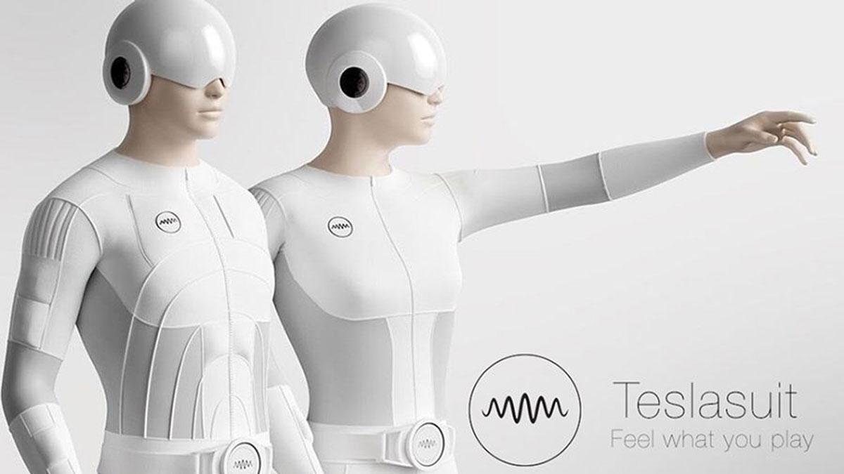 """Certains constructeurs ont déjà commencés à construire des vestes """"haptiques"""", capable de reproduire les sensations que l'on perçoit en réalité virtuelle ou augmentée."""