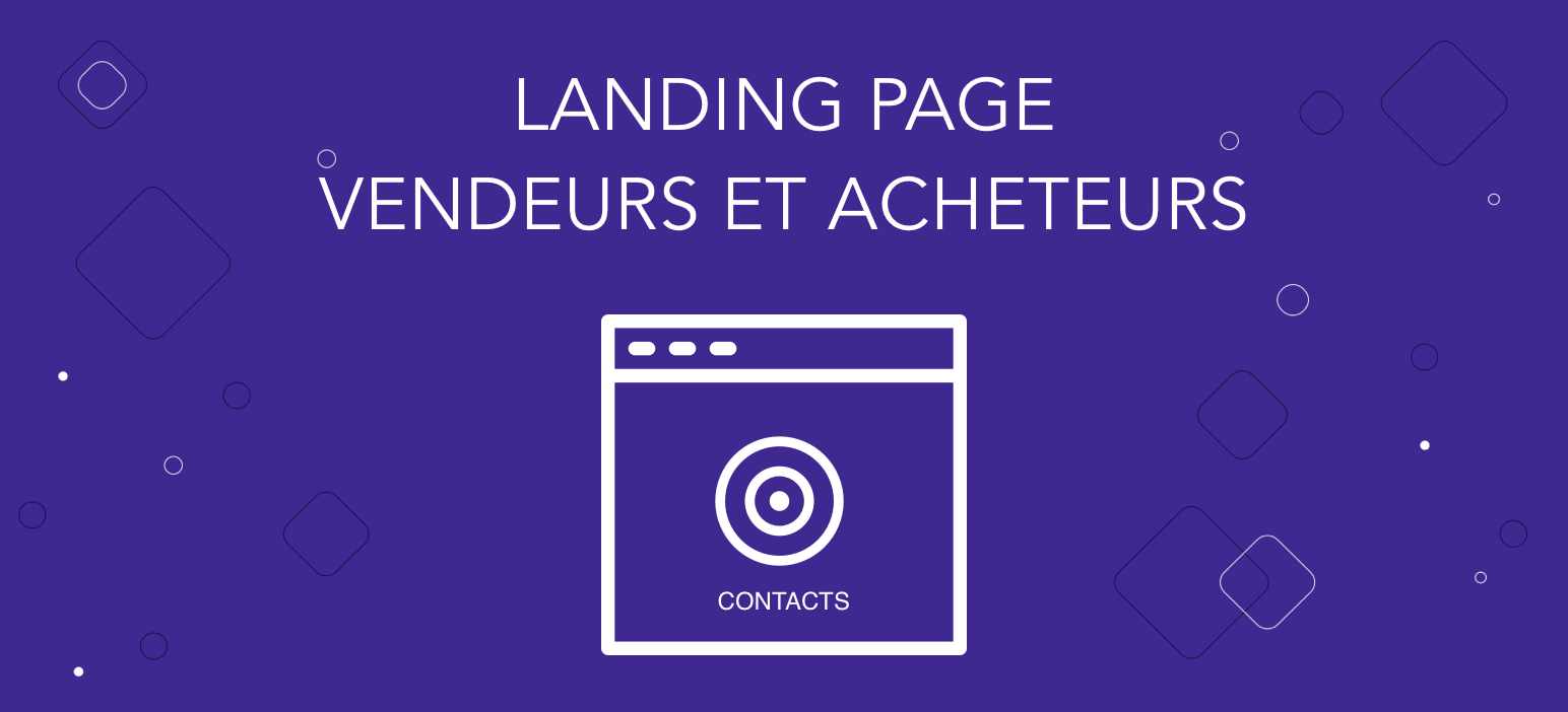 landing page immobilier