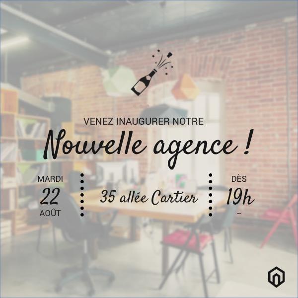 Design reseaux sociaux communication agence immobilier event 4