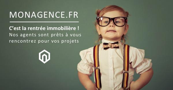 Design reseaux sociaux communication agence immobilier rentree 2