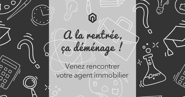Design reseaux sociaux communication agence immobilier rentree 5