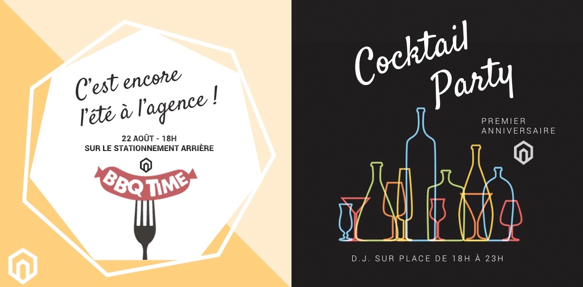 communication immobilier cocktail Facebook