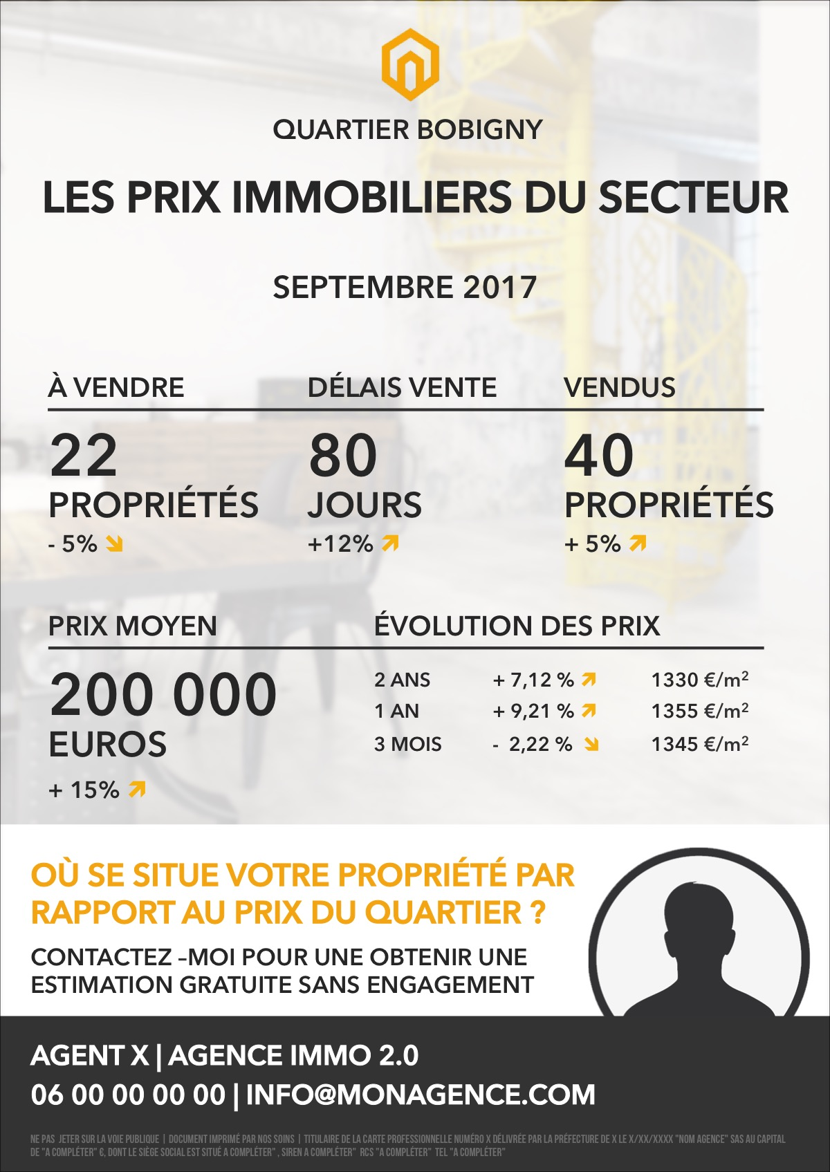 Flyer prix marche immobilier collection shining 2