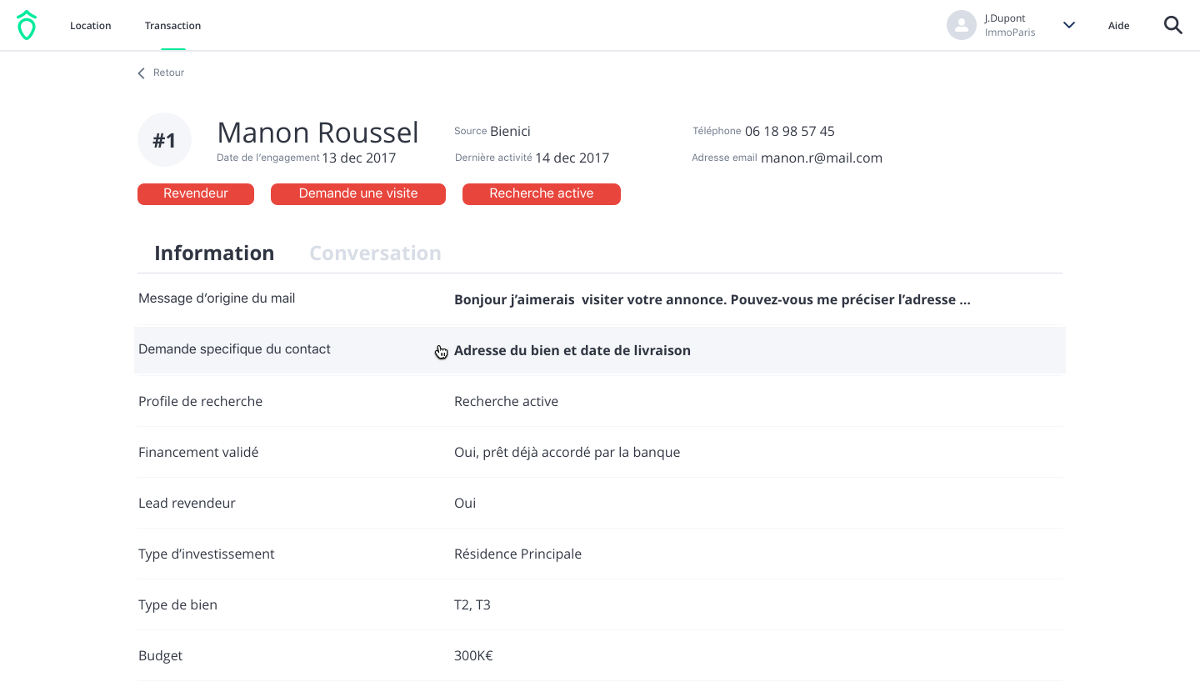 Pinpo Startup Immobiliere Seconds Ajouts