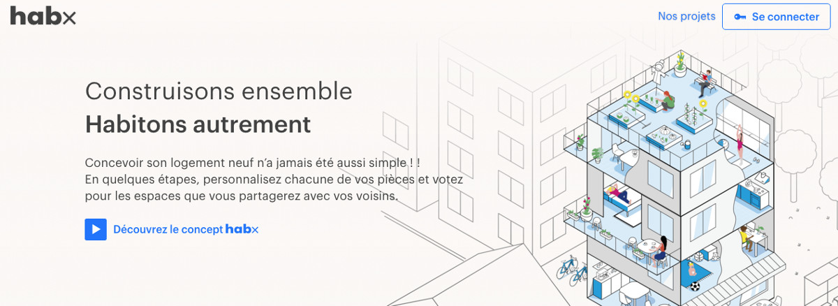 Startup Immobilier french proptech tour Habx