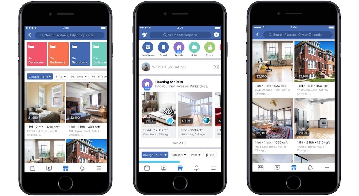 Facebook Marketplace Gafa Immobilier