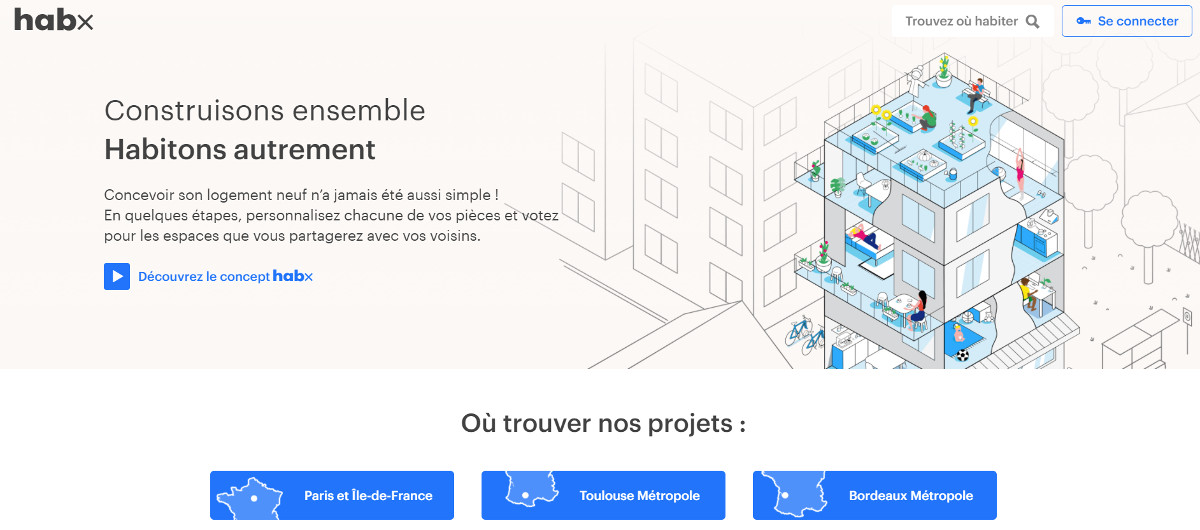 Habx Startup Immobilier Levee Fonds