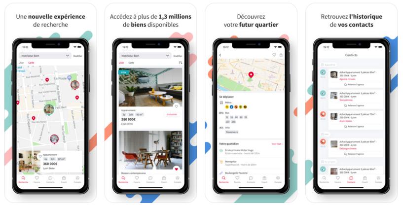 Seloger portail immobilier application mobile