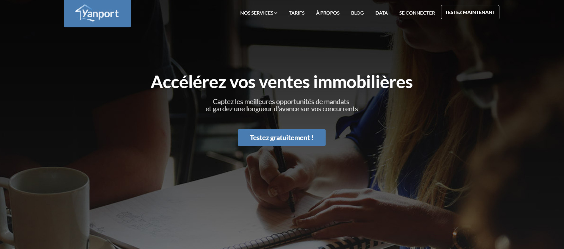 Startup Immobilier Pige Immobilier Yanport