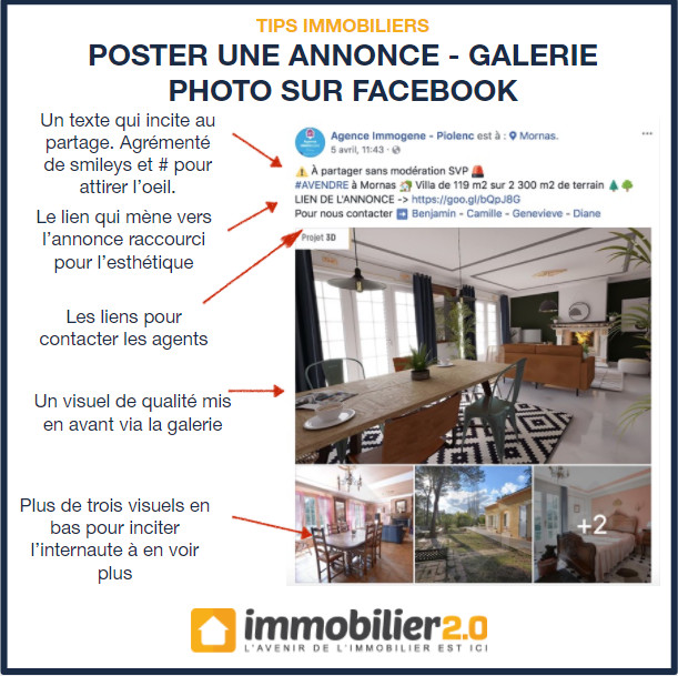 Facebook Poster Annonce Immobilier Galerie