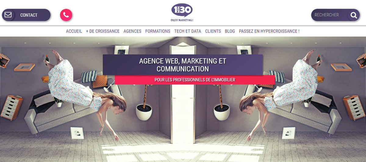 Agence Communication Immobilier 1min30