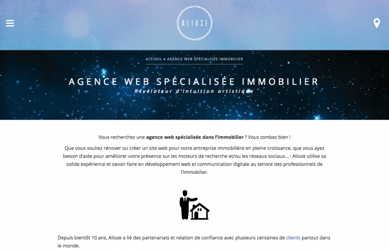 Alioze Agence Communication Immobilier