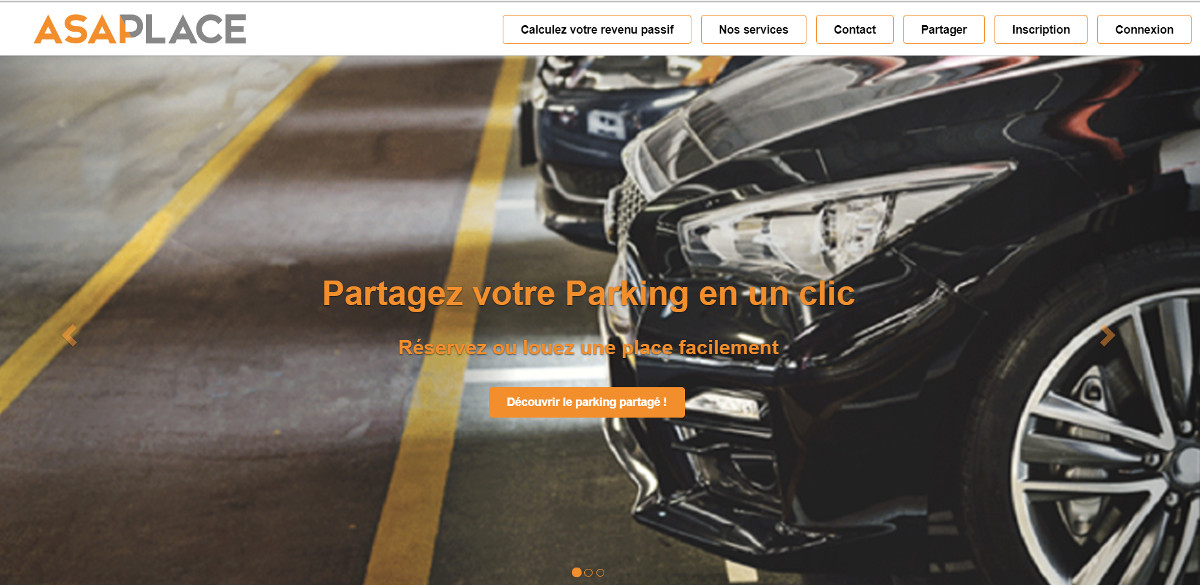 Asaplace Startup Vivatech Parking Sharing