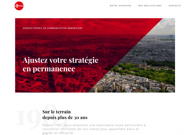 Bmad Agene Commùunication Immobiliere