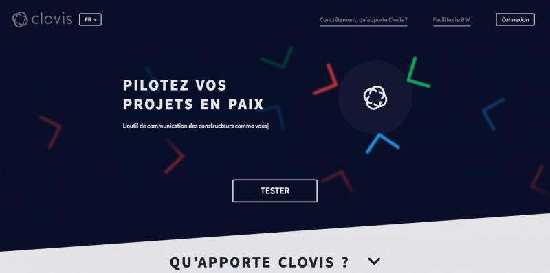 Clovis Startup Immobilier Communication Pilotage
