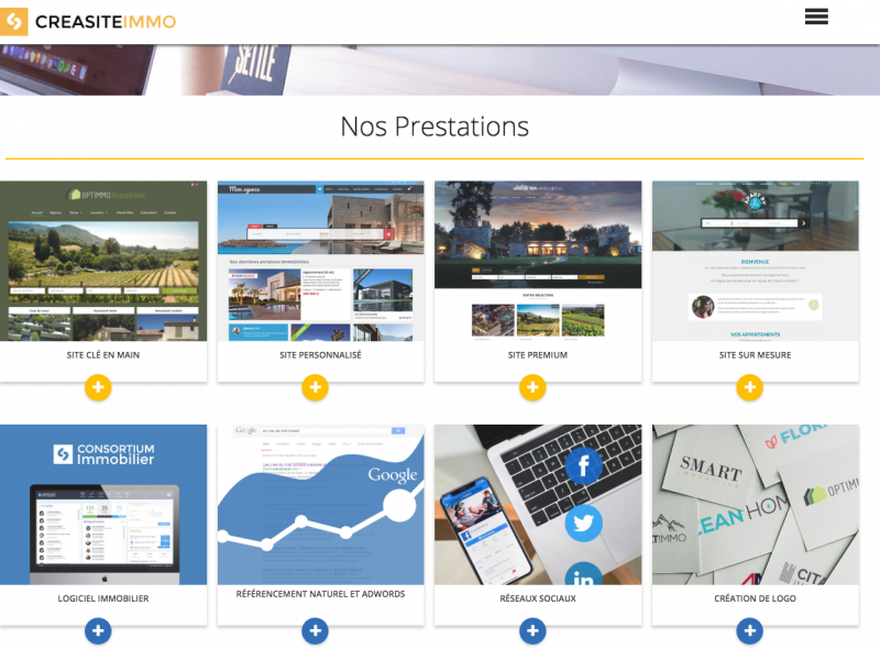 Creation Site Immobilier Referencement Logiciel