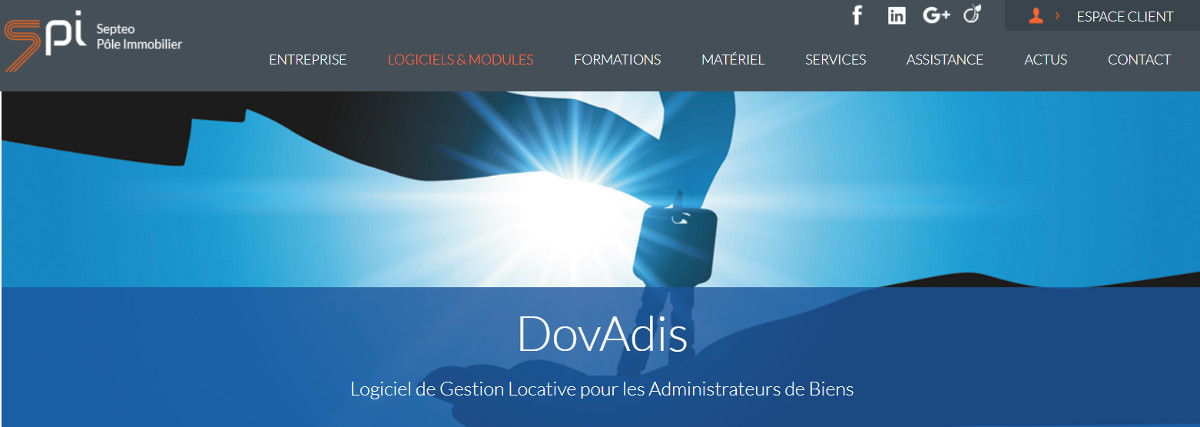 Dovadis Gestion Immobilier Location Illustration