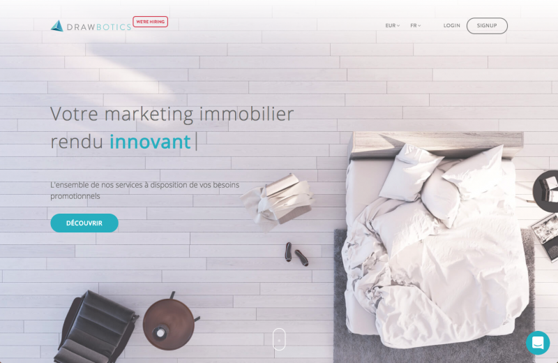 Drawbotics Marketing Immobilier