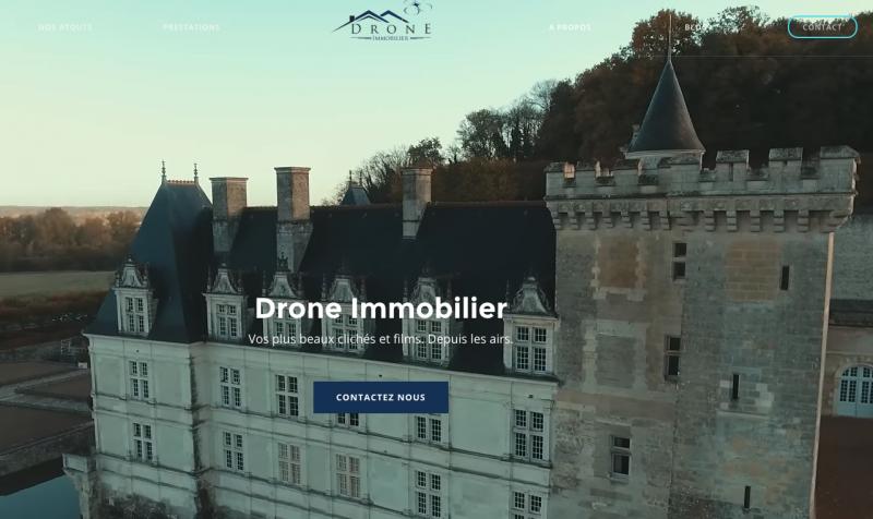 Drone Immobilier Smartdrone