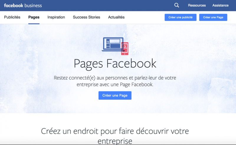 Facebook Fan Page Immobilier