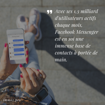 Facebook Messenger Immobilier