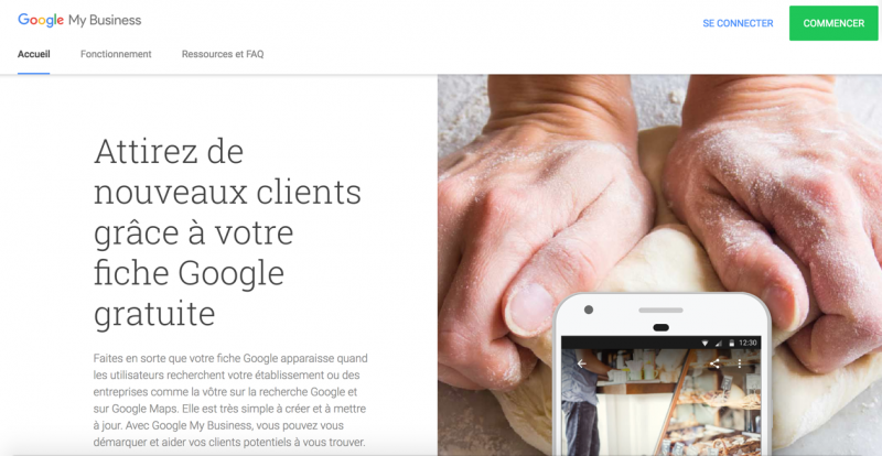 Google My Business Immobilier
