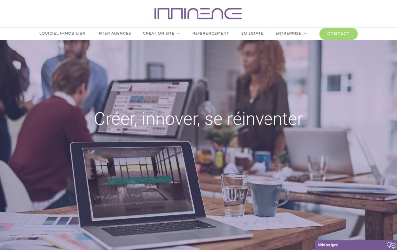 Imminence Logiciel Site Agence Immobilier