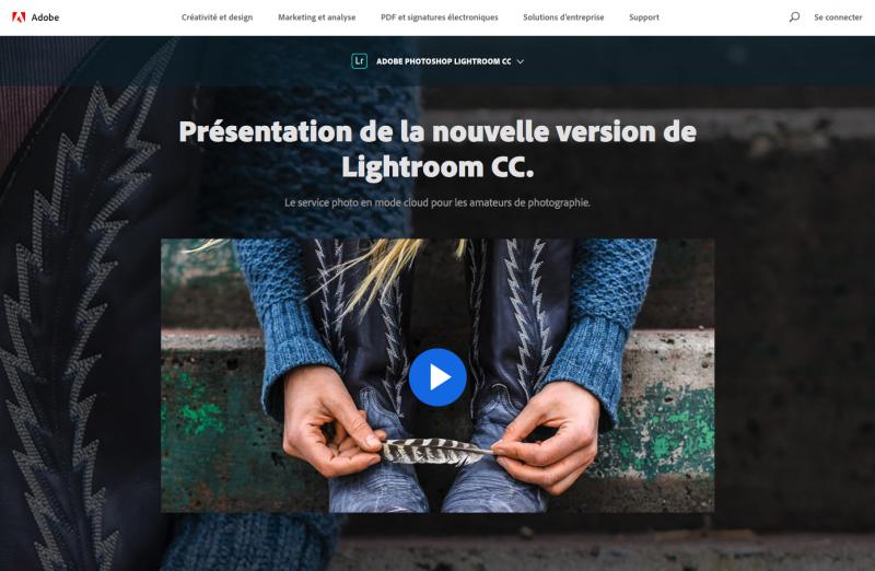 Lightroom Adobe Retouche Photos