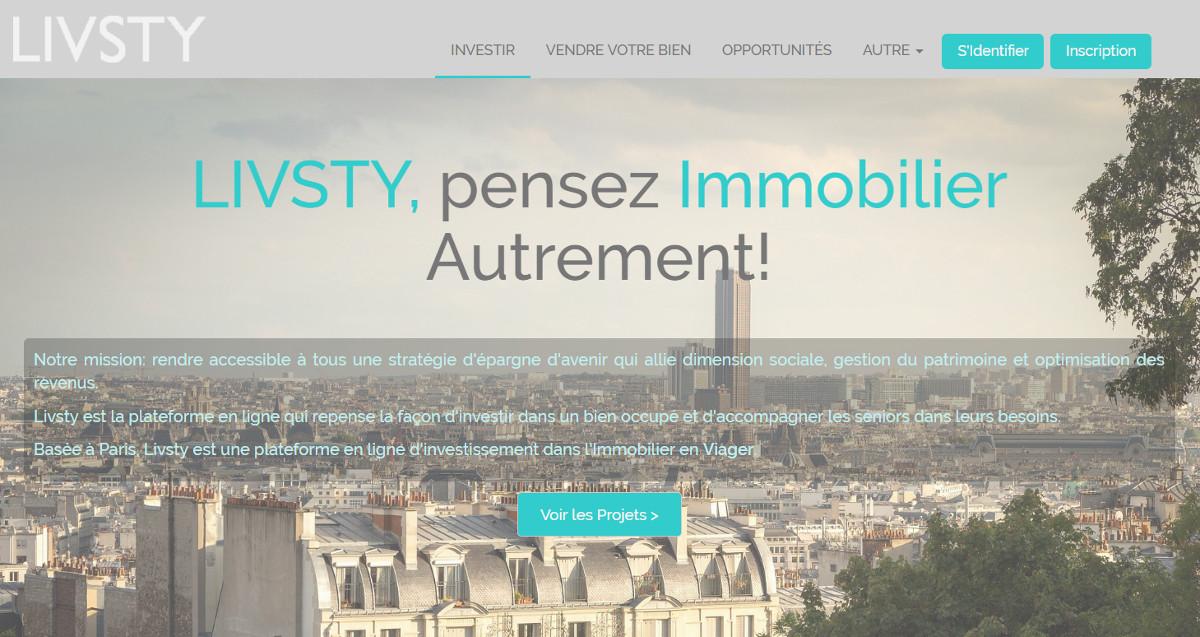 Livsty Vivatech Startup Immobilier Presentation