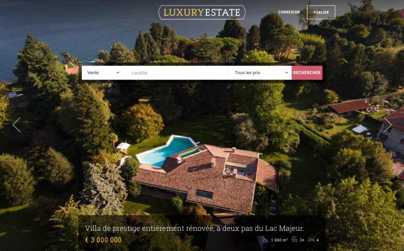Luxury Estate Portail Immobilier International Luxe Acheteurs Etrangers