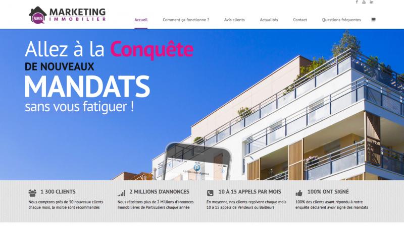 Marketing Immobilier Pige Prospectin Sms