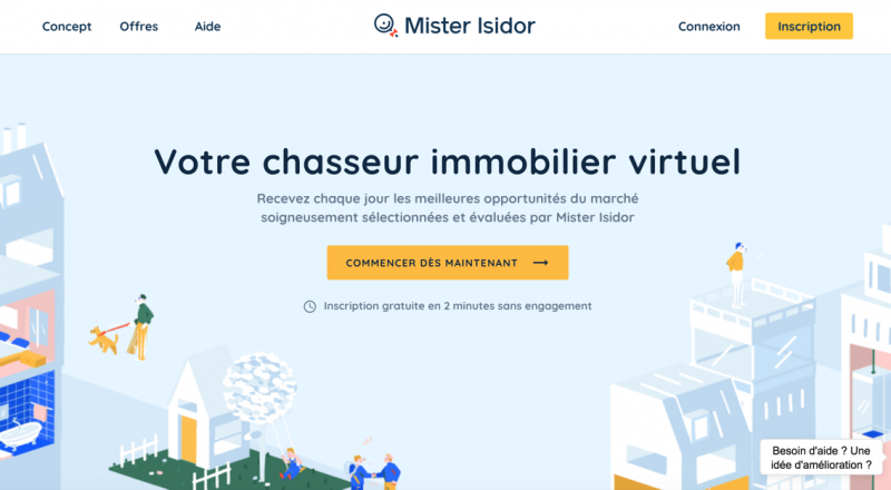 Mister Isidor Chatbot Immobilier