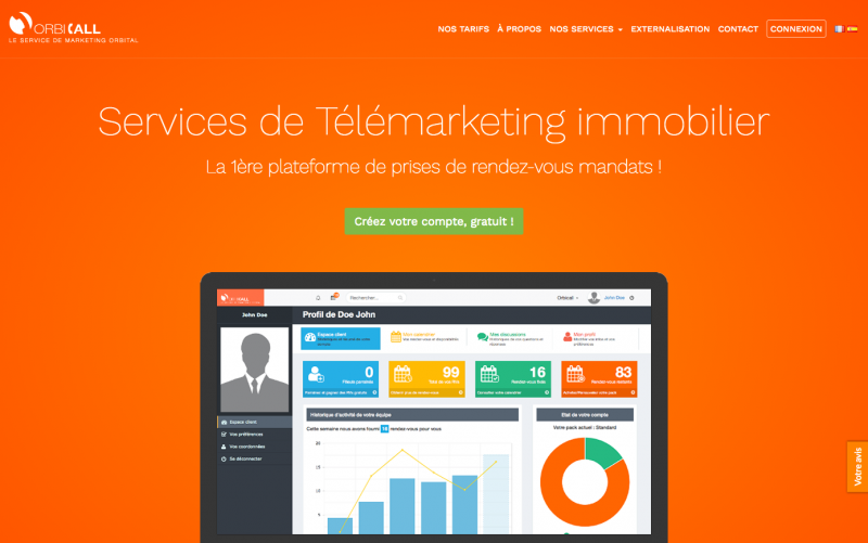 Orbicall Service Immobilier