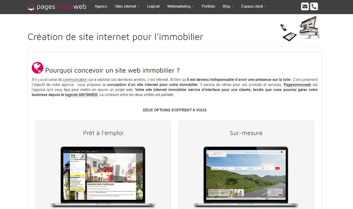 Pagesimmoweb Illustration Creationsiteweb