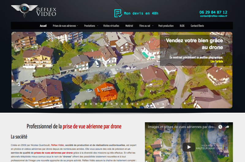 Reflex Videos Drone Immobilier