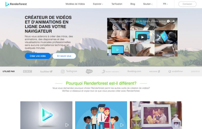 Renderforest Video Immobilier
