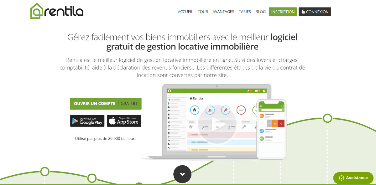 Rentila Gestion Locative Outils Immobilier