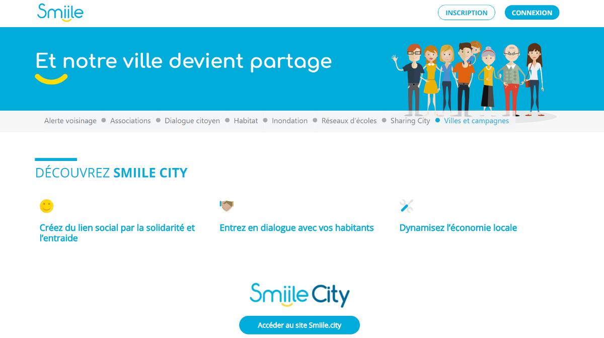 Smiile City Startup Immobilier Vivatech Presentation