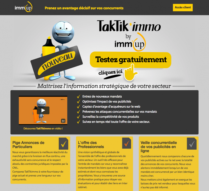 Taktikimmo Pige Immobiliere