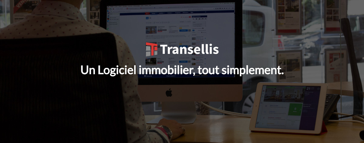 Transellis Logiciel Immobilier Illustration