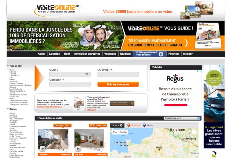 Visit Online Immobilier Video