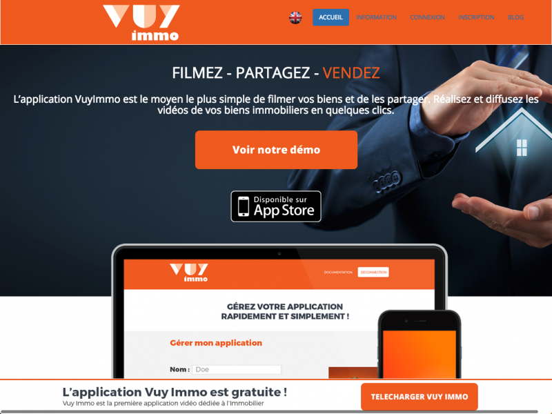 Vuyimmo Video Immobilier