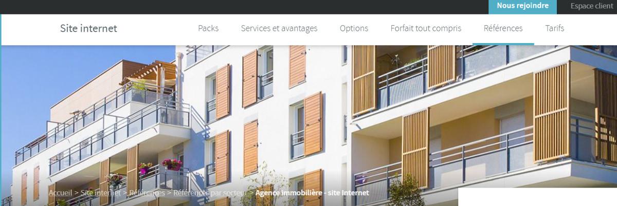 Webgazelle Creation Site Internet Immobilier