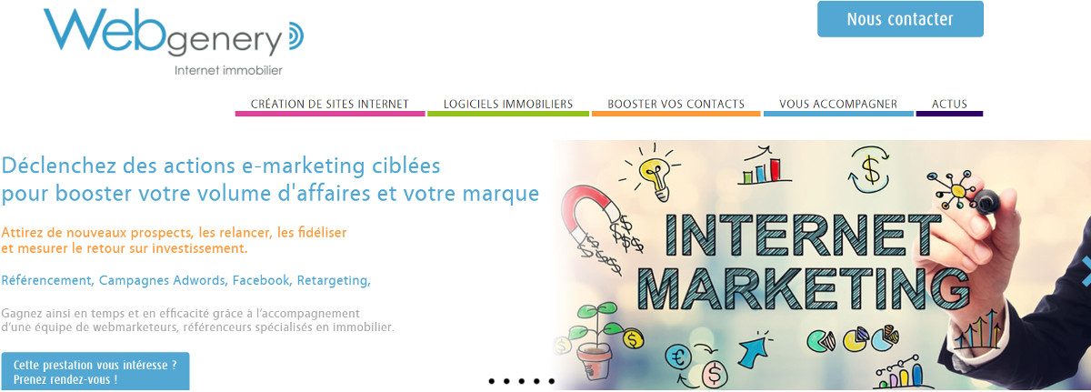 Webgenery Creation Site Internet Immobilier La Reserve D Immo 2