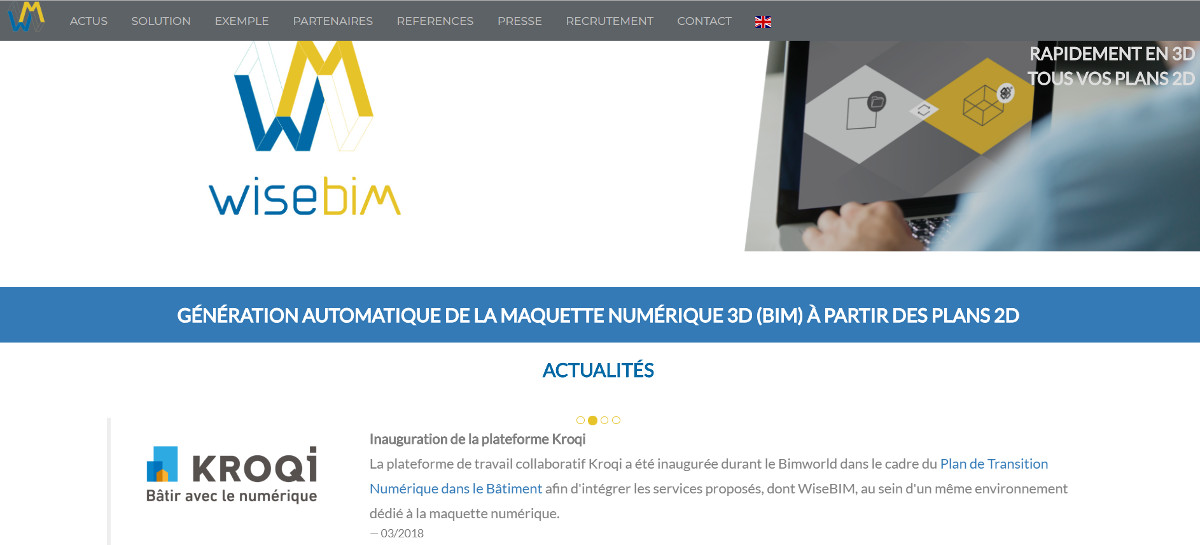 Wisebim Startup Immobilier Vivatech Presentation